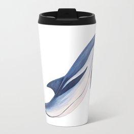 Striped baby dolphin Travel Mug