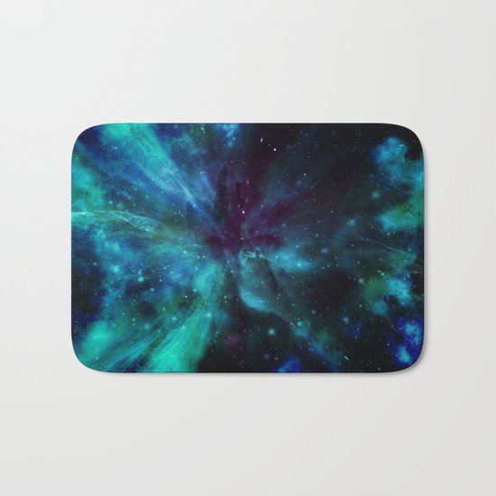 A Colorful Space Among The Stars Bath Mat