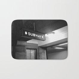 NYC Subway  Bath Mat