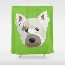 Luckyman Shower Curtain