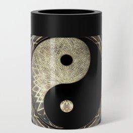 Yin Yang Geometry Mandala V1 Can Cooler