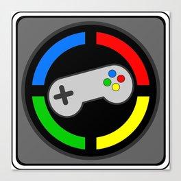 Video Gamer 4 Life Canvas Print