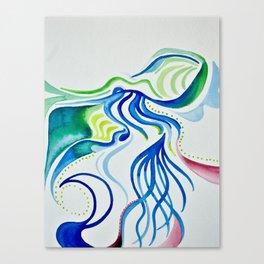 Natural view Canvas Print