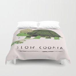 slow cooker Duvet Cover