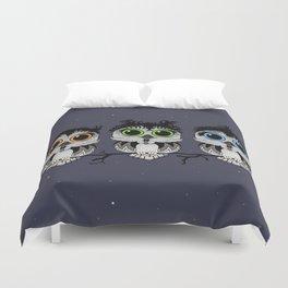 Three Little Owls Duvet Cover