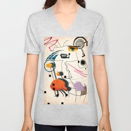 The Chicken Farmer Unisex V-Neck