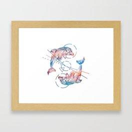 Spirit of the Dolphin Framed Art Print