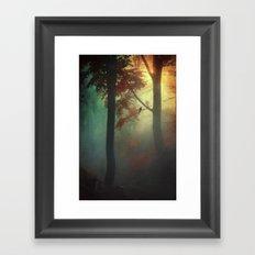 wAking liGht Framed Art Print