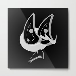 SCOTCH BLACK SiDE ver. (Original Characters Art by AKIRA) Metal Print