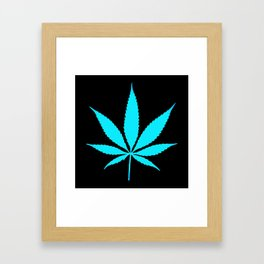 Weed : High Time Blue Framed Art Print