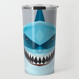S is for Shark Travel Mug