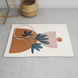 Minimal Abstract Shapes No.30 Rug