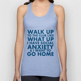 """Request-""""What Up"""" Unisex Tank Top"""