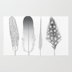 Feathers Trio Rug
