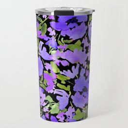 Periwinkle Bouquet Travel Mug