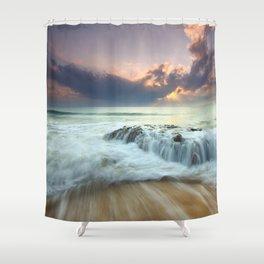 Sunrise sea sky 4 Shower Curtain