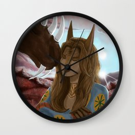 In The Countryside Wall Clock