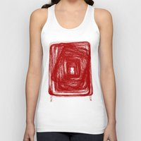 no face Tank Tops featuring Face by KRNago