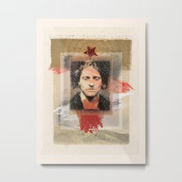 Star-crossed Man Metal Print