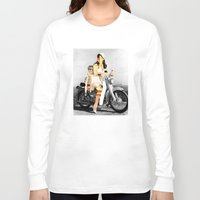 collage Long Sleeve T-shirts featuring CardinalsRoller Collage by Marko Köppe