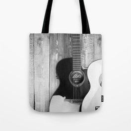 Acoustic Guitars Tote Bag