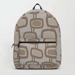 Dangling Rectangles in Brown Backpack