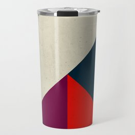 Geometric abstract Travel Mug