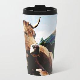Lunch break in the Alps Travel Mug