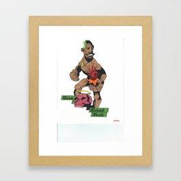 GST Framed Art Print