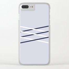 Interlaced Clear iPhone Case