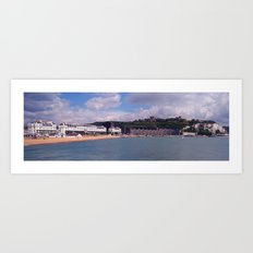 Dover Seafront from the Prince of Wales Pier  Art Print