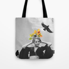 CROW GIRL Tote Bag