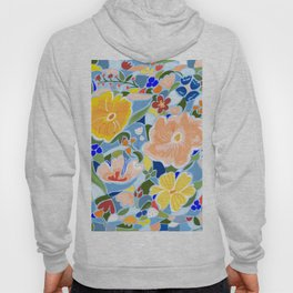 Summery Floral #illustration #pattern Hoody