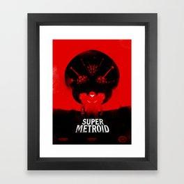 Super Metroid Framed Art Print
