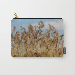 Lenz gently blowing the stalks Carry-All Pouch