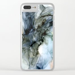 Southwestern Desert Abstract Landscape Inspired Clear iPhone Case