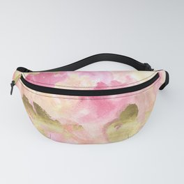Gold Tulips Fanny Pack