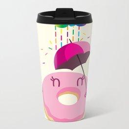Color Sugar Rain Metal Travel Mug