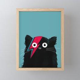 Cat Bowie Framed Mini Art Print