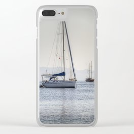 The Relaxation Yacht Clear iPhone Case