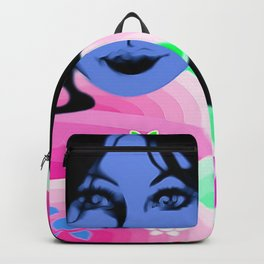Psychedelic Journey through colors Backpack