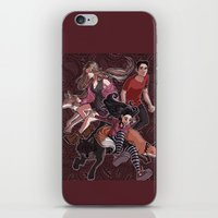 paisley iPhone & iPod Skins featuring paisley by callahaa