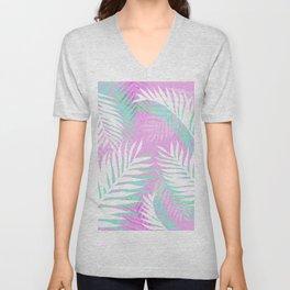 Tropical bliss - pastel Unisex V-Neck