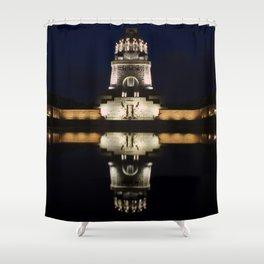 Monument Leipzig Shower Curtain