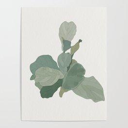Rachel's Fiddle Leaf Poster