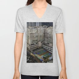 Outdoor Basketball Unisex V-Neck
