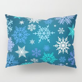 Snowflake pattern Pillow Sham