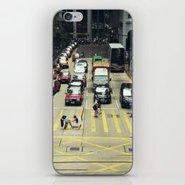 Dancers Stopping Traffic iPhone Skin