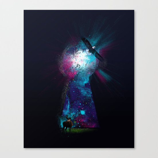 Keyhole Nebula Canvas Print
