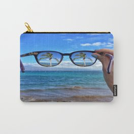 Hawaii Sunglasses Palmtrees Carry-All Pouch